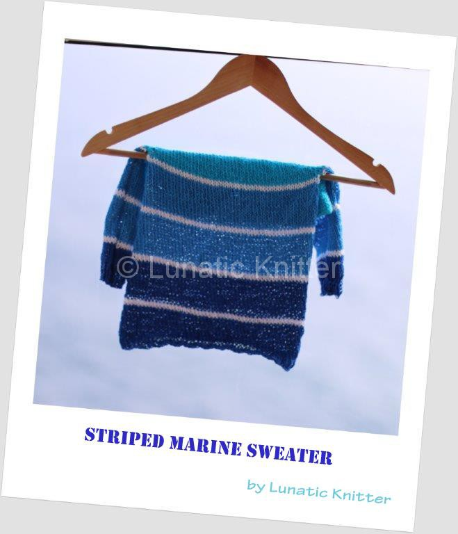 Striped marine sweater polaroid-001