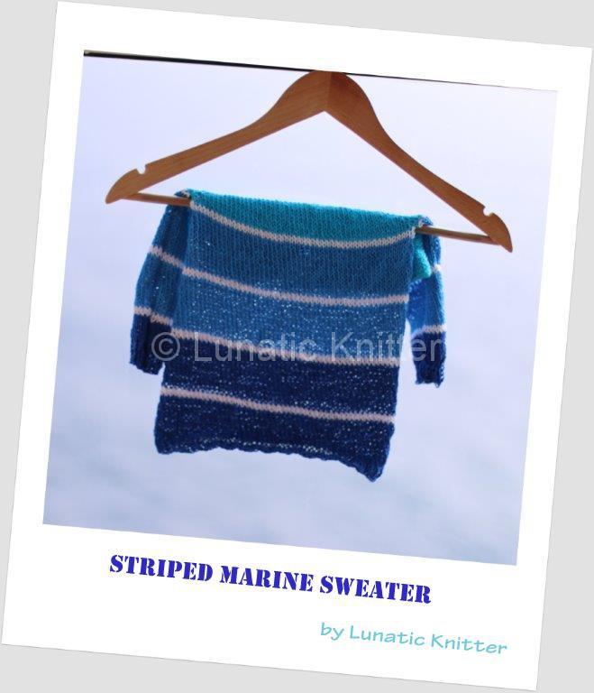 Striped marine sweater polaroid-001